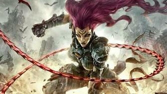 Nice Fury Darksiders III Game 1920x1080 wallpaper Darksiders III