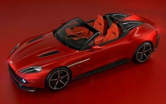 2018 Aston Martin Vanquish Zagato Speedster   Wallpapers and HD