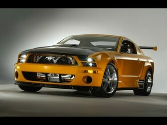 Mustang GT Luxury Car Wallpaper
