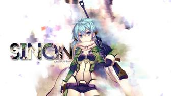 sinon background 1920x1080 sao sword 1920x1080 anime background online