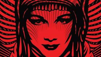 Home Wallpapers Shepard Fairey iPhone Wallpapers