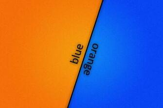 Blue orange blue orange white wallpaper   ForWallpapercom