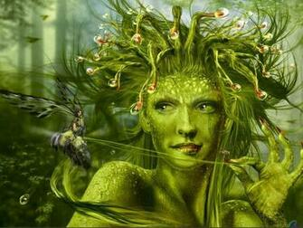 Wallpaper green fairy The Carnivorous Sundew Fairy by Doodledy