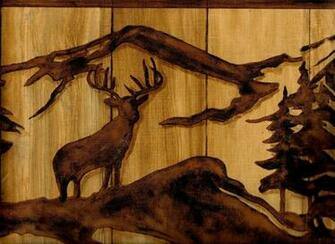 Elk and Bear Wallpaper Border WL5536B eBay