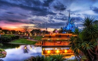 Disney town HD Desktop Wallpaper HD Desktop Wallpaper