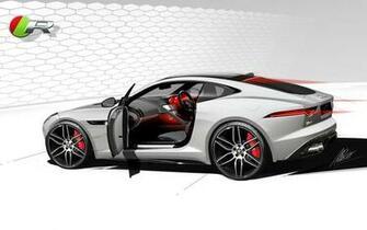 2014 Jaguar F Type R Coupe f wallpaper background