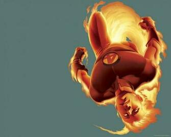 Fantastic Four Human Torch HD wallpaper anime Wallpaper Better