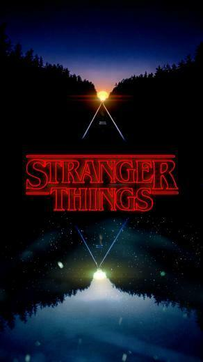 Discussion] Stranger Things Fans A nice setup with this wallpaper