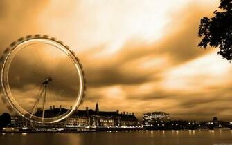 London Eye in Special Effects High Definition Wallpapers High