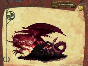 My Wallpapers   Fantasy Wallpaper Dungeons and Dragons   Dragon