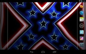Rebel Flag Wave Live Wallpaper   screenshot