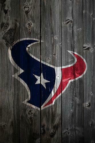 Houston Texans Wood iPhone 4 Background