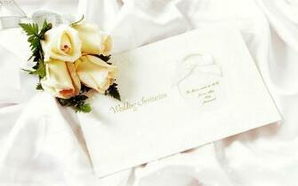 WEDDING INVITATION   Dream Wedding Wallpaper