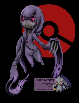 Favorite pokemon Ghost Type by pinafta1