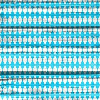 Oktoberfest Bavarian Traditional Blue And Rhombus Background