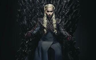 Wallpaper of Daenerys Targaryen Emilia Clarke Game of Thrones