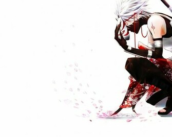 petals kakashi hatake white background anbu 1920x1200 wallpa Wallpaper