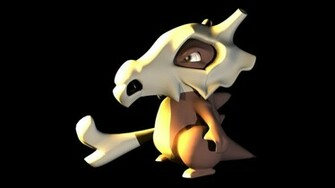 Cubone Wallpaper Cubone 3d by sonsofpride
