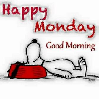 Happy Monday Good Morning Snoopy Quote Pictures Photos and