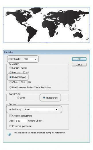 Digital World Map Background   Illustrator Tutorials Tips