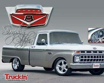 1965 Ford F100 Wallpaper and Background Image 1280x1024 ID