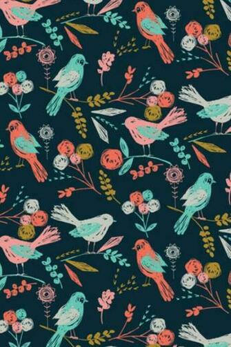 Vintage birds wallpaper Designs wallpapers skins Pinterest