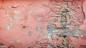 Weathered And Plastered Pink Wall Background Stock Photo   Getty
