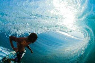 surfers surfing