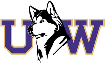 Washington Huskies Secondary Logo   NCAA Division I u z NCAA u z