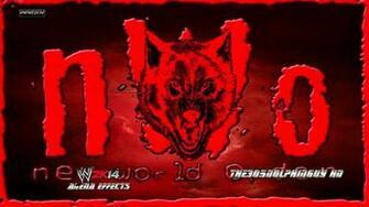 WWE 2K14 nWo WolfpacnWo Elite 1st Theme   Wolfpac Theme HQ Arena