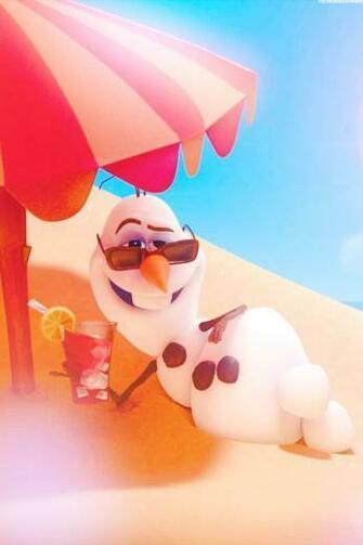 Olaf   frozen   disney wallpaper   in summer Frozen Pinterest