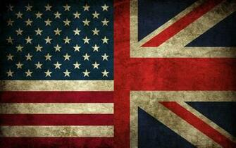 USA Union Jack flags Britain Wallpapers
