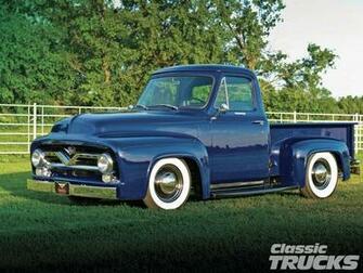 1955 Ford F100 [Desktop wallpaper 1600x1200] Trucks Etc