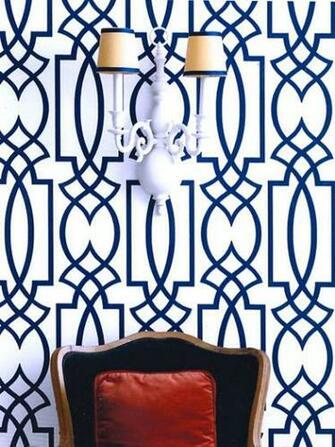 Dolce Vita Wallpaper   Eclectic   entrancefoyer   Eddie Ross