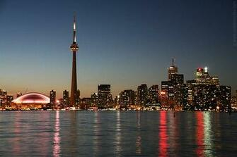 Toronto Skyline at night Toronto Pictures Wallpapers
