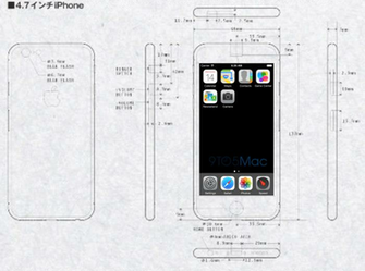 iphone 6 dimensions