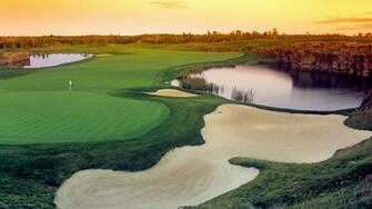 golf lakes golf course 1920x1080 wallpaper Wallpaper