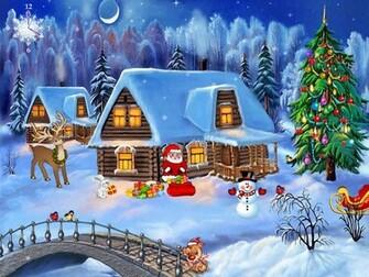 Christmas Screensaver   Christmas Symphony   FullScreensaverscom