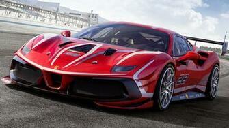 2020 Ferrari 488 Challenge Evo HD Wallpaper Background Image