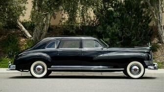 Images 1946 Packard Custom Super Clipper Limousine Black 1920x1080