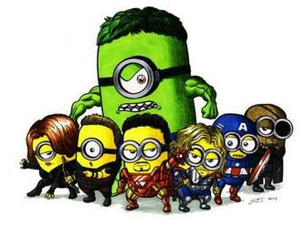 Minions Avengers Wallpaper Picture Movies Wallpaper
