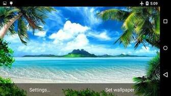 Paradise Live Wallpaper 4K Screenshot 2