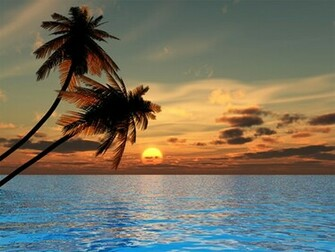 Sunset Beach Wallpapers Download Wallpaper DaWallpaperz