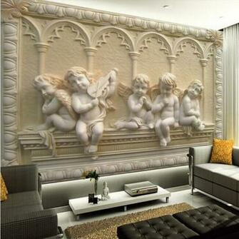 3d Wallpaper Stereoscopic Tv Background Wall Paper Living Roomjpg