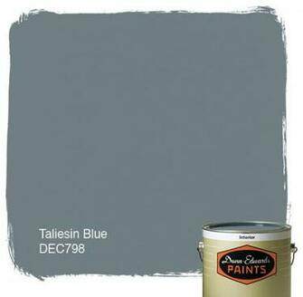 Dunn Edwards Paints Taliesin Blue DEC798 paint