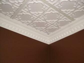 DCT Carved Styrofoam Crown Molding 5 in wide 65 ft long wallpaper