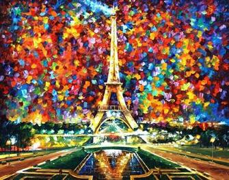 Leonid Afremov Paris Of My Dreams wallpaper 168039