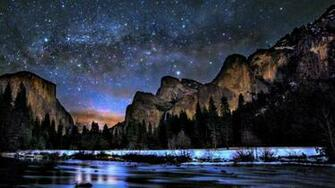 Way peaceful sky lovely yosemite national park wallpaper 65833
