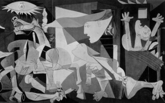 1280x800 Picassos Guernica Wallpaper Download