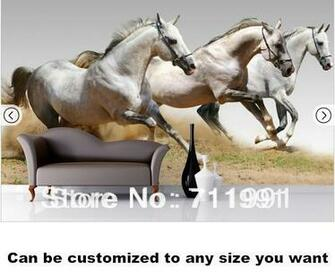 shipping Horse Wall Murals Wallpaper WallpaperChina Mainland